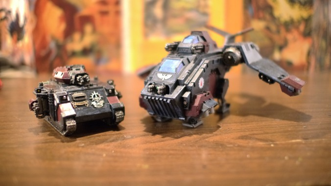 Stormraven and Baal Predator